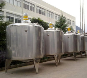 Small Pasteurizer Milk Batch Pasteurizer Heating Tank pictures & photos