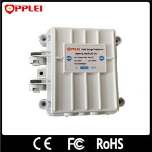 IP Camera Lightning Protector 1-Port Ethernet Power Poe Surge Arrester pictures & photos