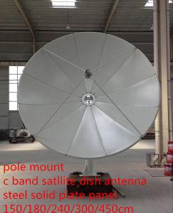 1.5 1.8 2.4 3 3.7 4 5 6m 4 6 8 10 12 14 18 22feet Prime Focus Fullset C Band Satellite Steel Iron Fiber Plate Solid Fiber TV Digital HD Parabolic Dish Antenna pictures & photos