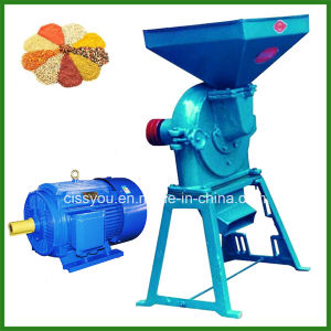 Mini Multifunctional Animal Feed Corn Wheat Grain Grinder Crusher Machine pictures & photos