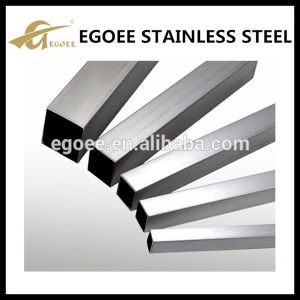 High Polish 304 Inox Square Stainless Steel Tube for Furniture pictures & photos