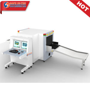 Baggage Xray Screening Equipment Dual-view Xray Machine SA6550D pictures & photos