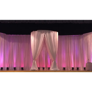 Event Backdrop Decoration Creative Ceremony Backdrop Ideas Pipe and Drape Stands pictures & photos