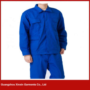 Customized Good Quality Men Women Working Coverall Supplier (W244) pictures & photos