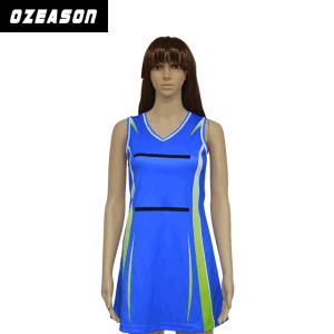 Wholesale Polyester / Spandex Sublimation Custom Design Fashion Design Netball Dress pictures & photos