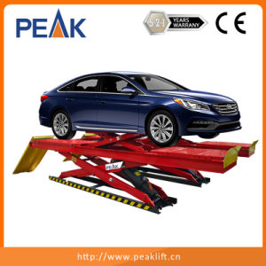 4.0t Capacity Hydraulic Double Scissor Auto Lift with Ce Approval (DX-4000A) pictures & photos