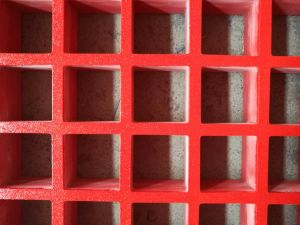 Molded FRP GRP Fiberglass Mesh Flat Grating pictures & photos