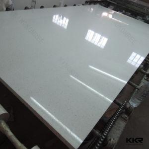 2cm Sparkle Black Artificial Quartz Stone for Flooring Tiles pictures & photos