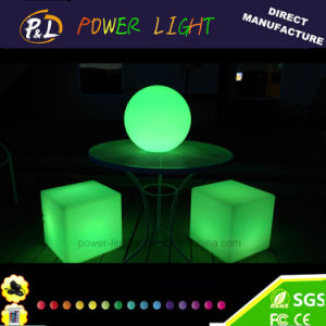 Rechargeable Color Changing RGB LED Cube pictures & photos