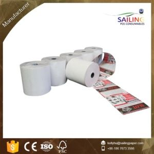 Blank White Grade a Quality Thermal Paper Rolls pictures & photos
