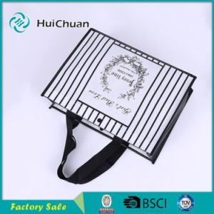Non Woven packaging Fashion Tote Bag with Button pictures & photos