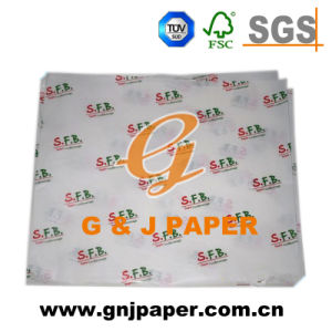 Customized Logo Printed Tissue Paper for Wholesale pictures & photos