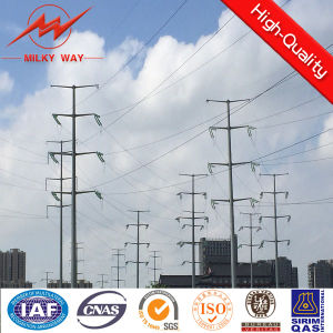Steel Pole for Overhead Power Transmission pictures & photos