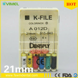 Assorted Dental K-File Niti Endo Root Canal Hand Use pictures & photos