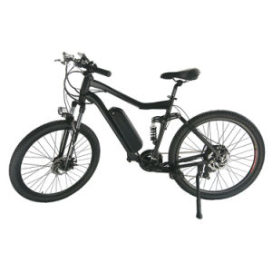 "27.5"" Full Suspension Electric Bike pictures & photos"
