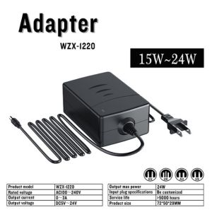 12V AC DC Portable Power Adapter with UL pictures & photos