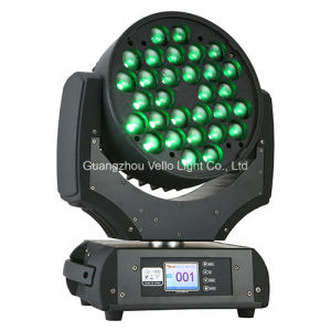 Vello LED Wash Zoom RGBW Stage Moving Head Light (LED XP700) pictures & photos
