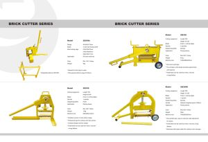 Cutting Machine Brick Cutter pictures & photos
