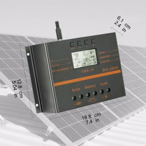 80A 12V/24V Solar PV Cell Controller for Solar System S80 pictures & photos