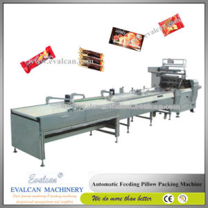 Semi-Automatic Granola Bar Pillow Packing Machine pictures & photos