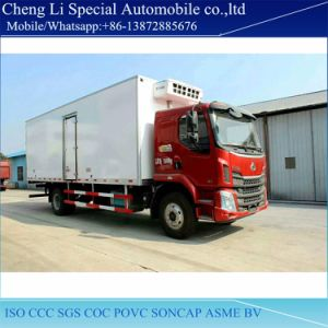 Dongfeng Lq High Quality 4X2 LHD Rhd Freezer Van Truck pictures & photos