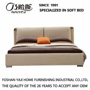 OEM Bedroom Furniture Fashion Design Fabric Bed G7008 pictures & photos