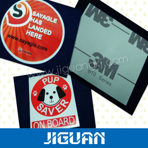 Solid Silksreen Weatherproof Printing Vinyl Decal pictures & photos