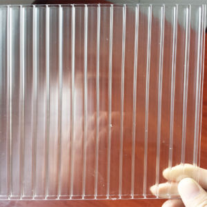 100% Virgin Sabic Hollow Polycarbonate Sheet with Light Transmitting pictures & photos