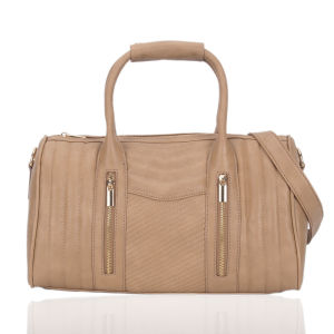 Best Selling Qulited PU Leather Women Bowling Handbags pictures & photos