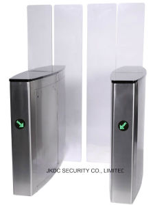 High Security Elegant Optical Turnstile Sliding Gate Factory Price pictures & photos