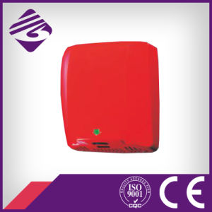 Wall Mounted Red Stainless Steel Hand Dryer (JN72009)