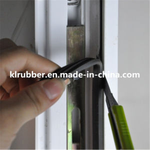 Anti-Mosquito Self Adhesive Window Silicone Rubber Sealing Strip pictures & photos