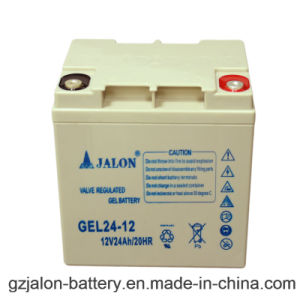 Long Life Rechargeable Gel Battery for Security System (12V24ah)
