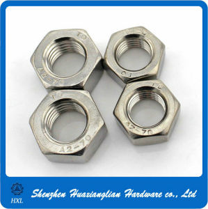 DIN 934 Customized Stainless Steel Hex Nut pictures & photos