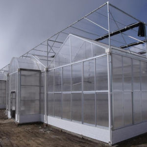 2016 Hot Multi-Span PC Greenhouse for Seeding pictures & photos