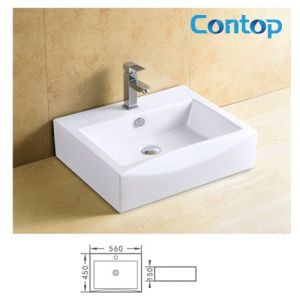 Ceramic Counter Top Wash Basin 8122 pictures & photos