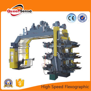 High Speed High Quality Flexo Plastic Printing Machine for PE/PP/Bag/Paper pictures & photos