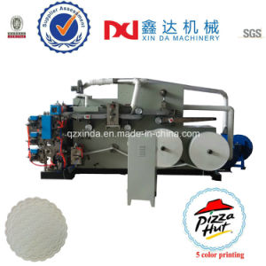 Automatic Embossed Color Printing Paper Cup Coaster Forming Equipment Machine pictures & photos