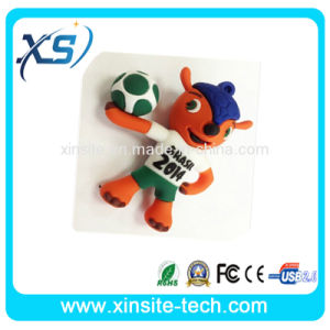 The Lovely Brasil Football USB Flash Drive for Gift (XST-USB-005)