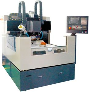 CNC Engraving Machine for Mobile Glass Processing (RCG503S_CV) pictures & photos
