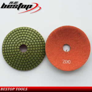 Concave Wet Diamond Polishing Pads Tools pictures & photos