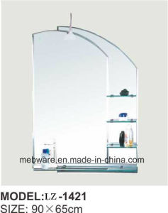 Mirror Supplier New Design Silver Decorative Mirror Shelves IP44 pictures & photos