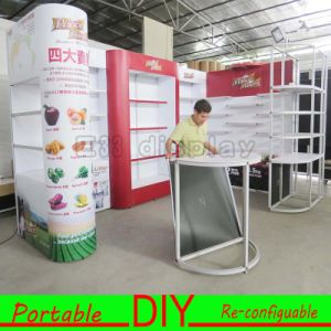 Custom Made Portable Aluminum Fabric Trade Show Exhibition Booth pictures & photos