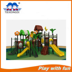 Leader Manufacturer Factory Price Plastic Slide Playground pictures & photos