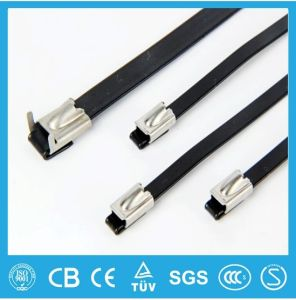Stainless Steel Cable Tie, PVC Coated Ball-Lock Ball Locking 304 Stainless Steel Cable Ties pictures & photos