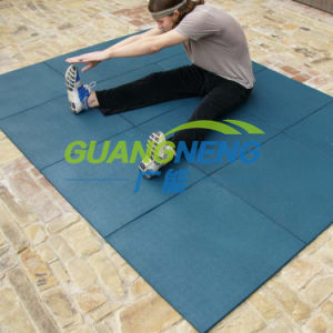 Fitness Equipment Pad, Interlocking Gym Floors, Anti-Slip Floor Mat pictures & photos