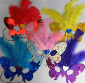 Custom Private Party Feather Masks pictures & photos