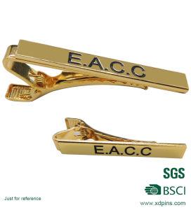 Custom Hard Enamel Tie Clip/Metal Silver Bar Clip pictures & photos