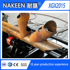 Three Axis CNC Plasma/Flame Pipe Cutting Machine pictures & photos