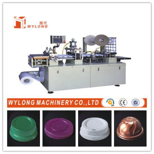 Plastic Flat Cup and Bowl Lid Making Machine